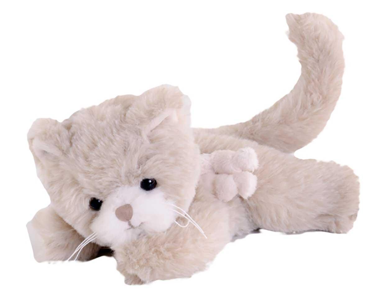 Bukowski Design Little Catty Creme-Beige Stofftier Katze 15cm geeignet für Kleinkinder ab 6 Monaten