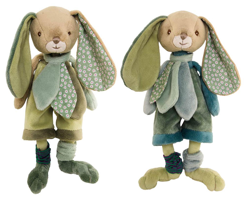 Bukowski Design Benji Brothers (25cm) Stofftier Plüsch Hase geeignet für Kleinkinder ab 0 Monaten