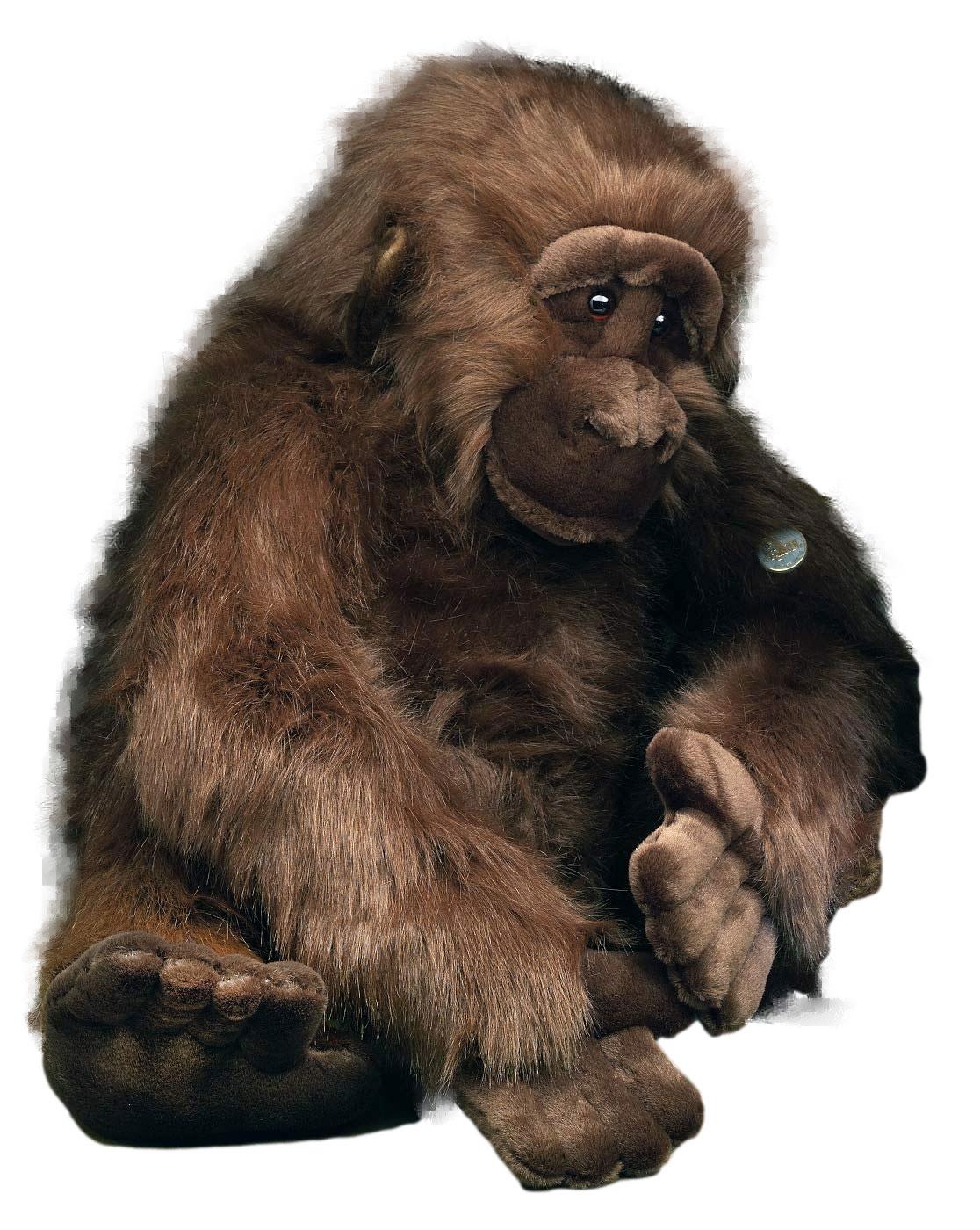 Förster Stofftiere 1750 Gorilla extra groß 80cm Plüshtier Stofftier
