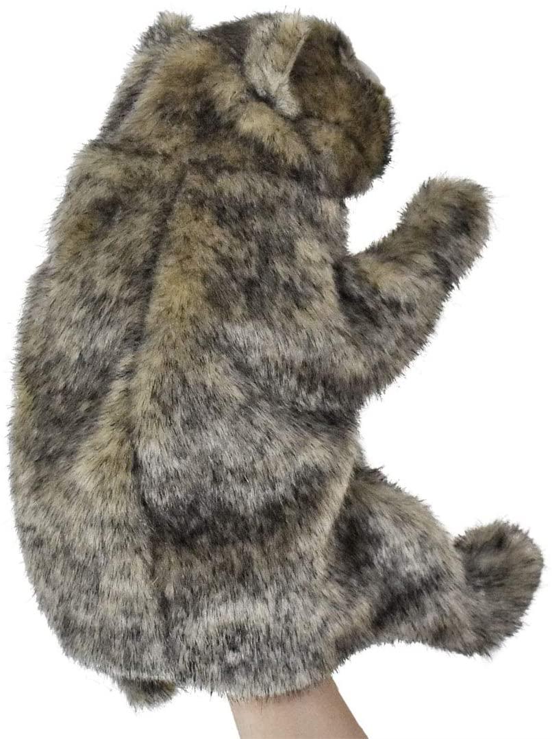 Hansa Handpuppe Wombat originalgetreu 23cm BeutelsaugerTheaterpuppe Hinten