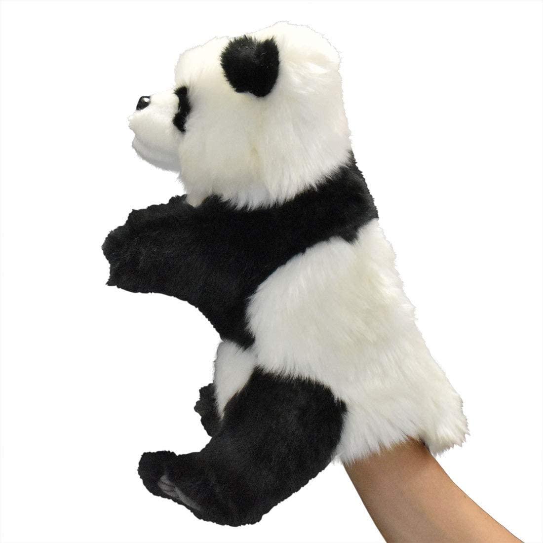 Handpuppe Panda originalgetreu 30cm PandabärTheaterpuppe Hansa 7165 Seite Links