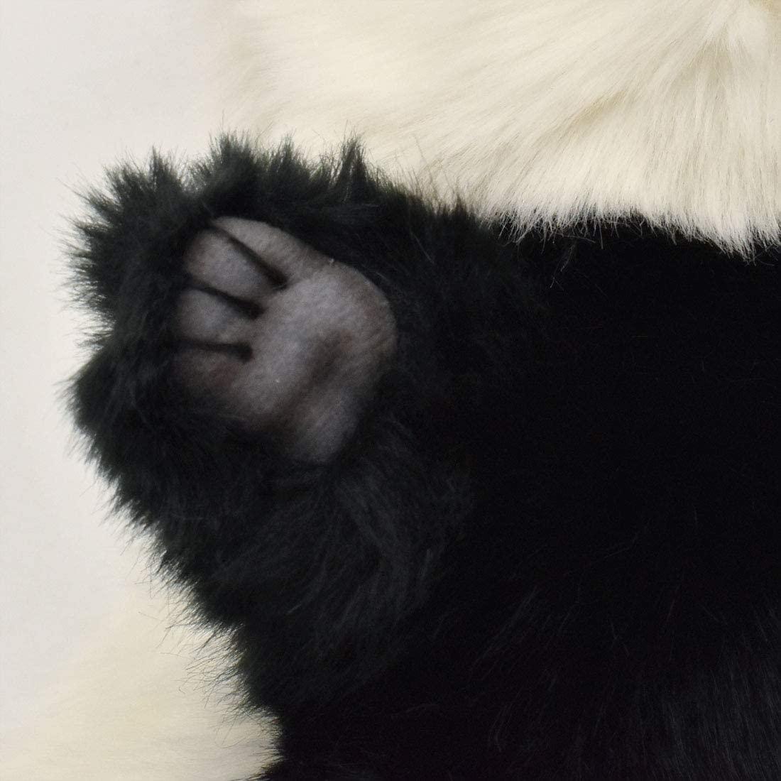 Handpuppe Panda originalgetreu 30cm PandabärTheaterpuppe Hansa 7165 Pfote im Detail