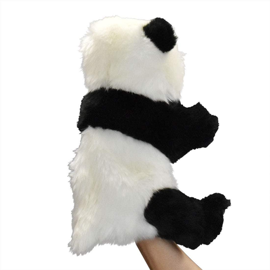 Handpuppe Panda originalgetreu 30cm PandabärTheaterpuppe Hansa 7165 Seite Rechts