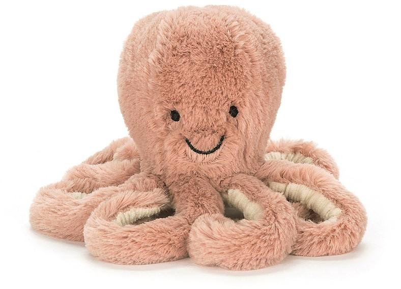 Jellycat Octopus Klein Baby Apricot ODB4OC