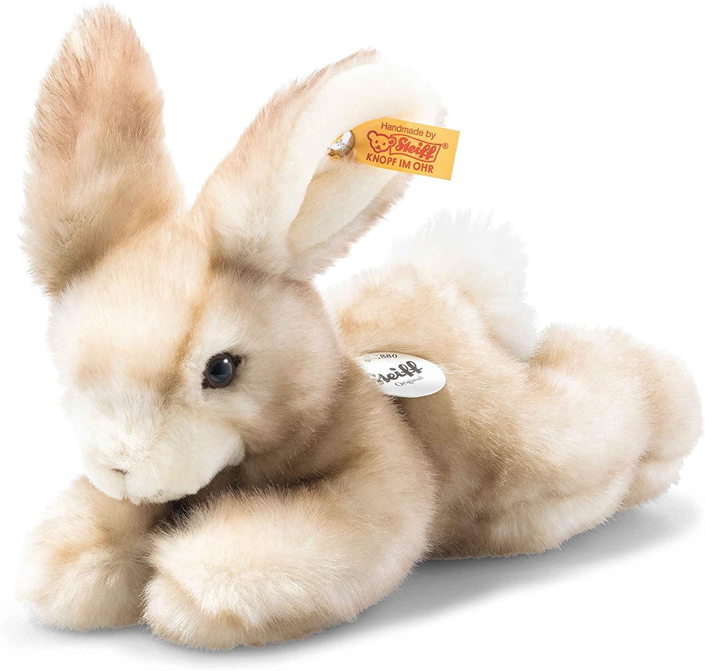 Steiff Schnucki Hase-24 cm-Kuscheltier für Kinder-weich & kuschelig-waschbar-beige (079986)