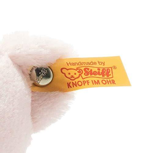 """BESTER FREUND: Unser Soft Cuddly Friends My first Steiff Teddybär ist ein treuer Begleiter für jedes Baby MAßE & PFLEGE: My first Steiff Teddybär ist 26 cm groß und bei 30° Grad in der Waschmaschine waschbar WEICH & KUSCHELIG: Der Teddy ist für Baby geeignet und ein wahrer Freund fürs Leben BESONDERES SPIELERLEBNIS: My first Steiff Teddybär ist ein teuer Kuschelfreund und schenkt Ihrem Baby Geborgenheit ab der ersten Minute. ORIGINAL STEIFF PLÜSCHTIER: Der """"Knopf im Ohr"""" steht für unser Versprechen an Sie: Kuscheltiere mit höchsten Anforderungen an Qualität, Sicherheit, Verarbeitung und Materialbeschaffenheit"""