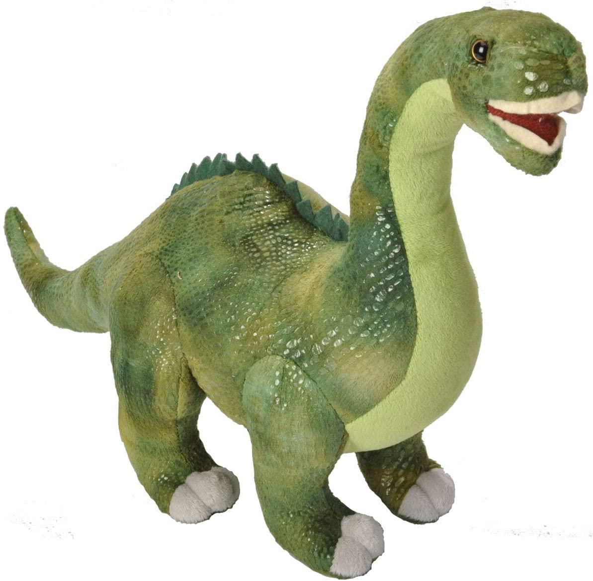 Diplodocus 18611AP Dinosaurier ca. 38cm by Wild Republic Stofftier Kuscheltier Dinosaurier Planzenfresser Dinoauria Kuscheln Sie mit diesem Riesen aus prähistorischer Zeit. Der Diplodocus war ein Pflanzenfreser, der für seine Größe bekannt war.