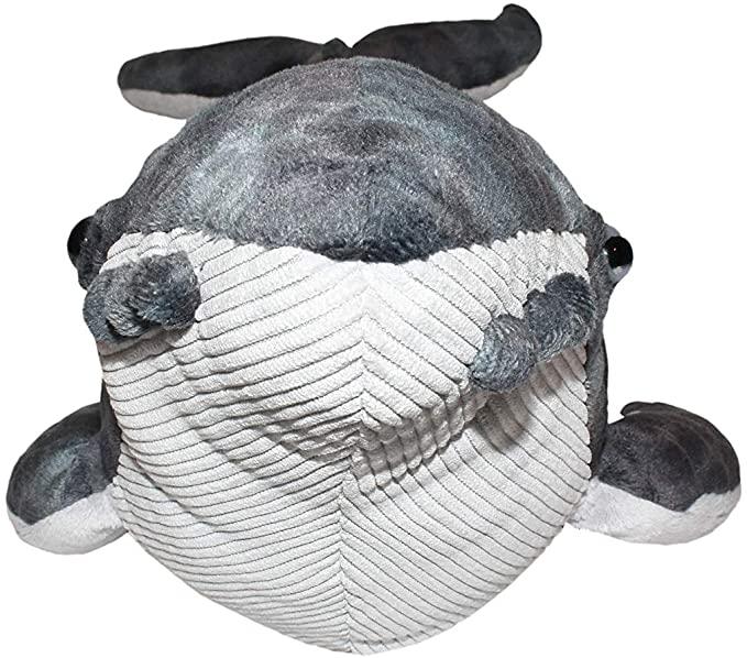 Wild Republic 22453 Plüsch Buckelwal Cuddlekins Kuscheltier 20 cm Humpback Wild Republic - Cuddlekins - Buckelwal, zuhause in allen 7 Weltmeeren zieht der intelgente Buckewal seine Kreise. Weich, kuschelig und hervorragend verarbeitet, wie alle Stofftiere von Wild-Republic